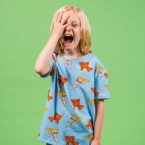 Lucas Kids Short Tee – Fish