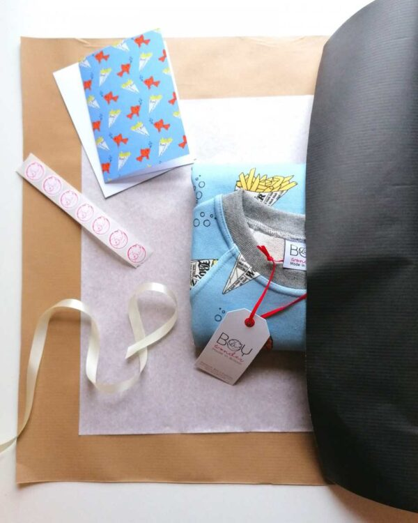 Gift wrap Open