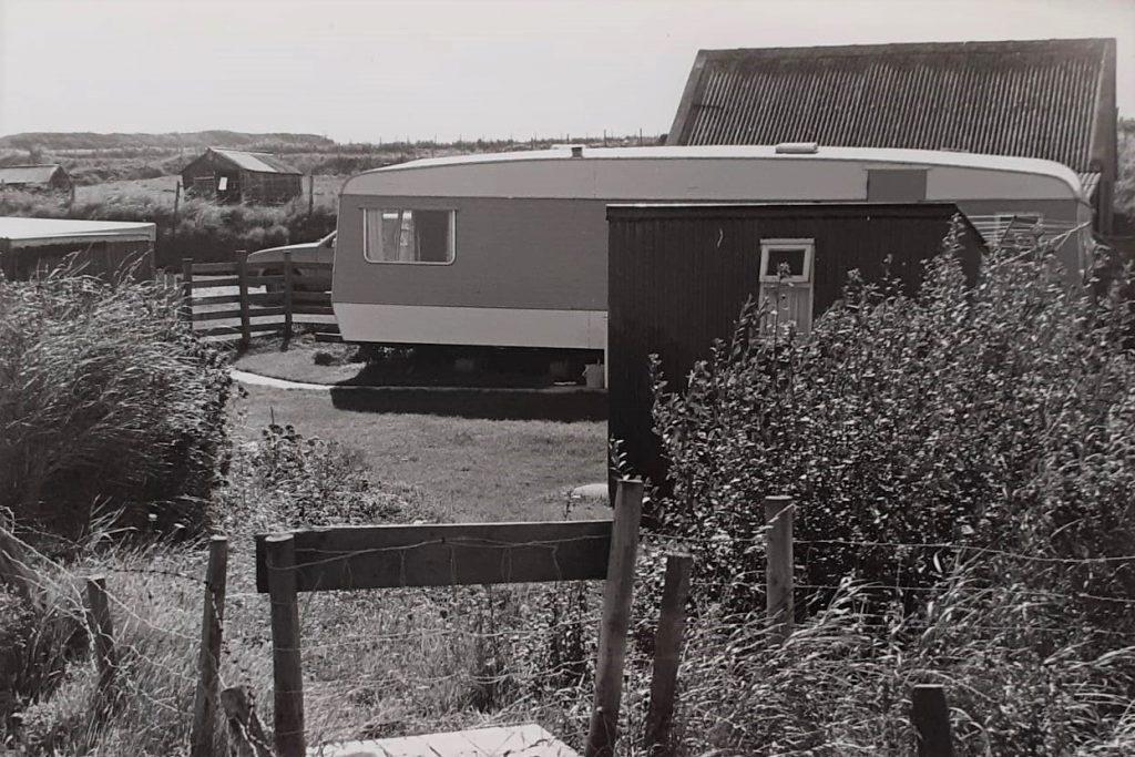 Caravan in wales