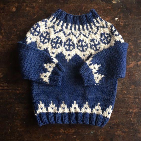 Mama Owl Alpaca Sweater