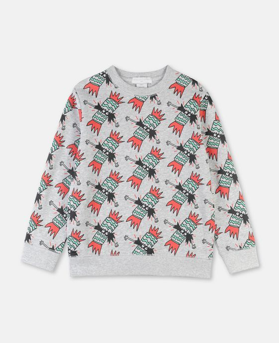 Stella McCartney Christmas Sweets Sweatshirt