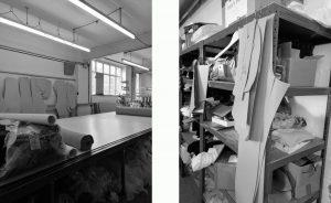 Fine knits cutting room