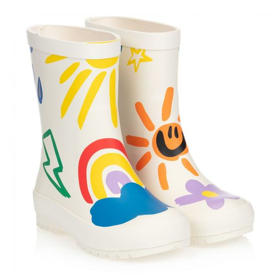 6 of the Coolest Kids Wellies