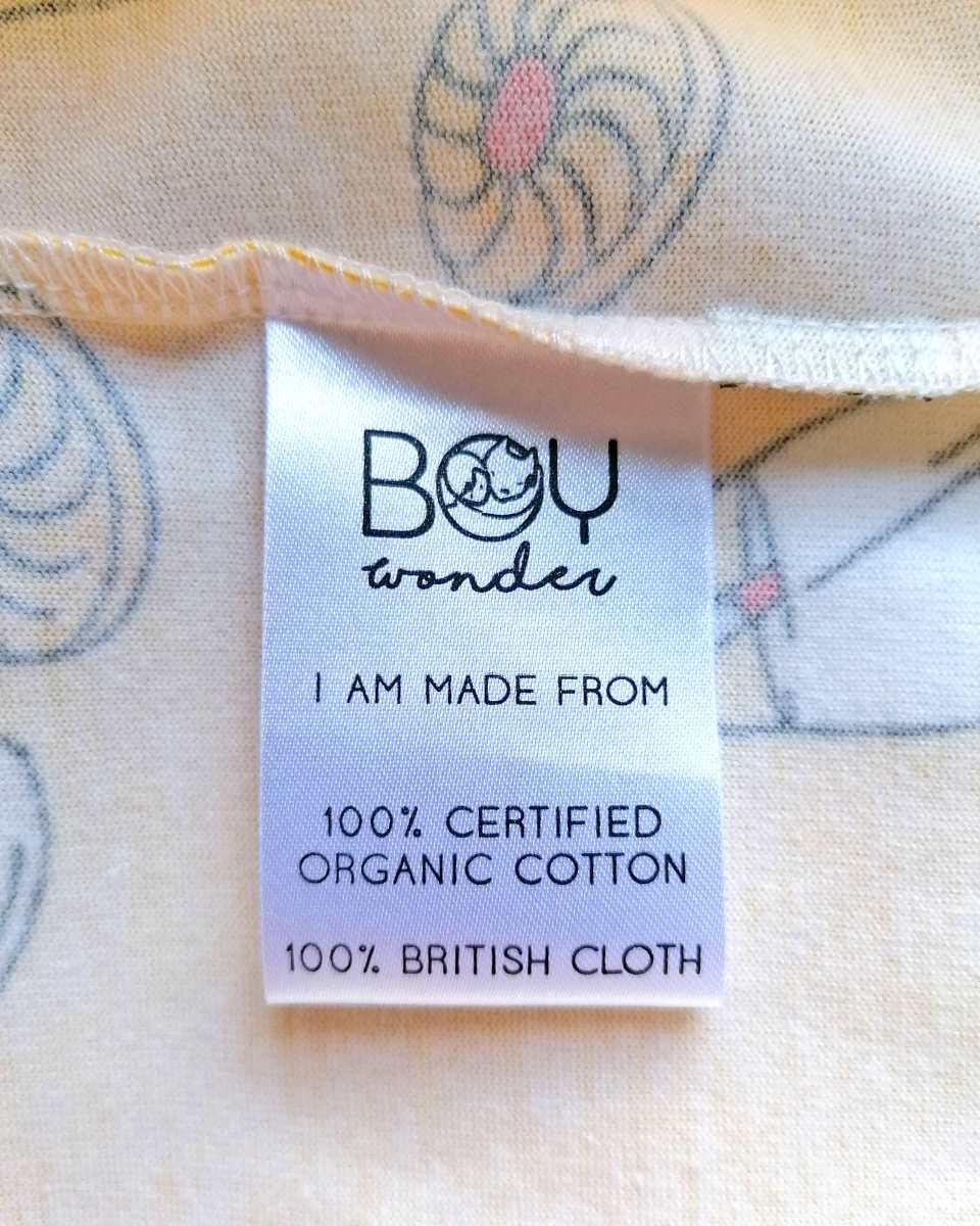 Boy wonder care label