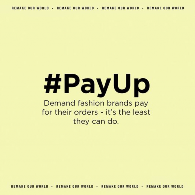 Join the #PayUp Campaign
