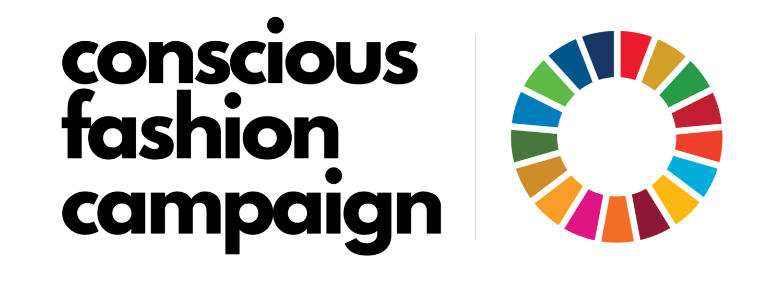 Conscious fashion campaign logo