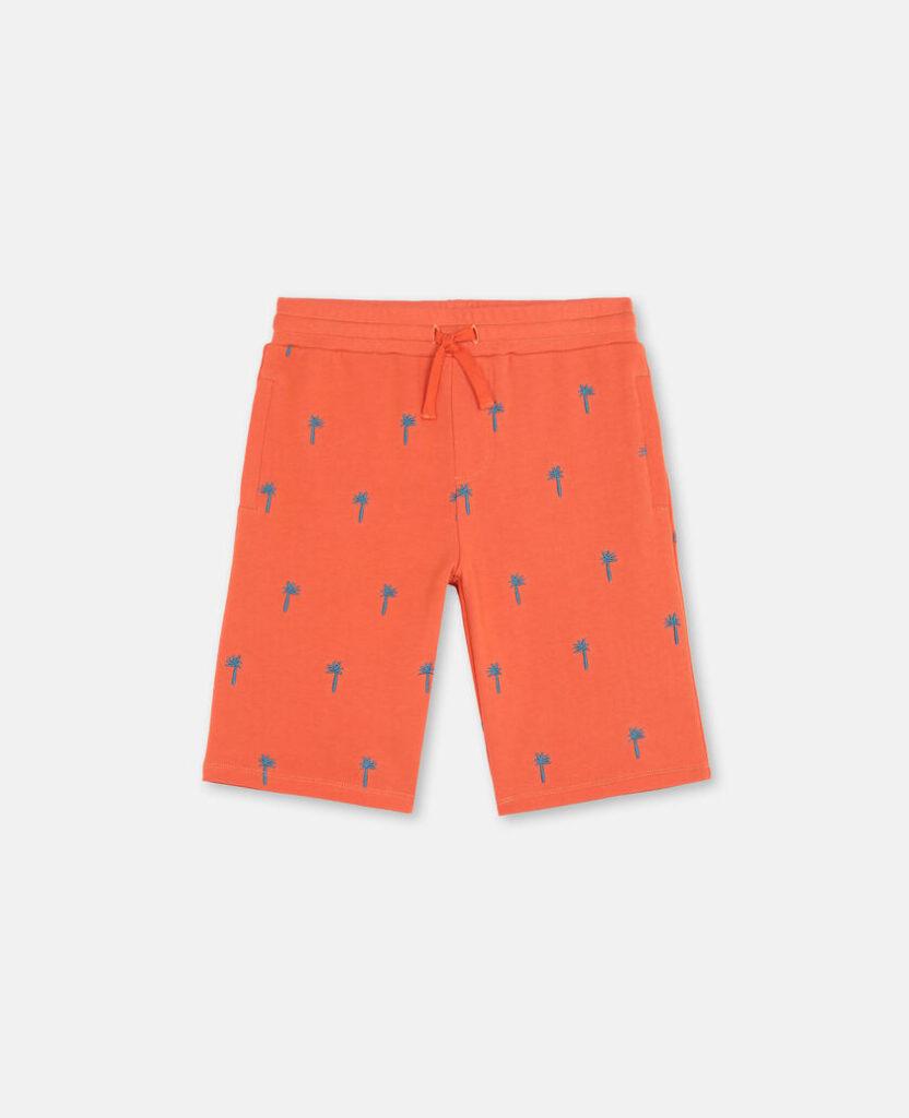 stella maccartney palm shorts2