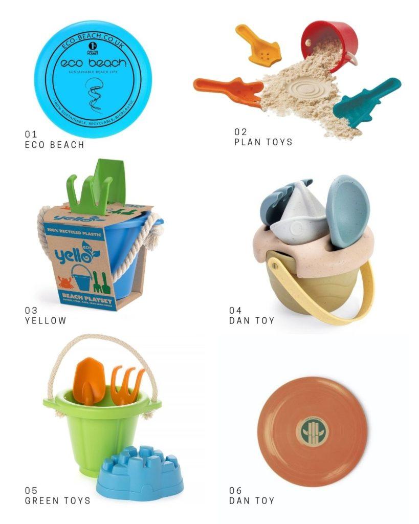 Sustainable beach toys